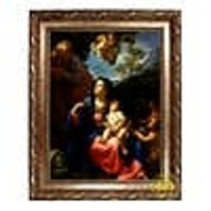 """The Rest of the Flight into Egypt, Framed Canvas 16"""" x 22 -1/2"""""""