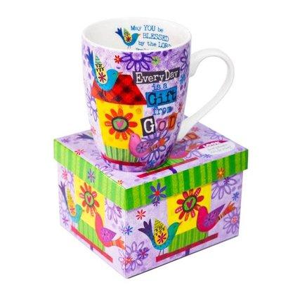 Ceramic Mug - Birdhouse Gift From God
