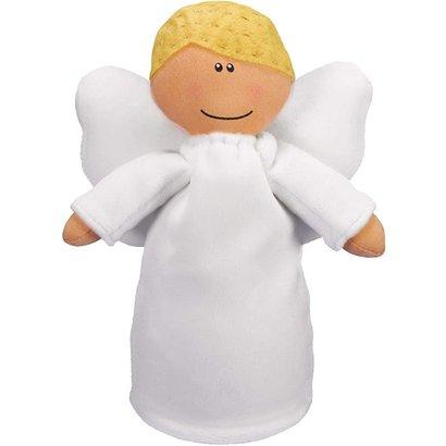 Angel Plush Doll-Boy with Blonde Hair
