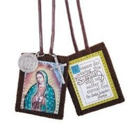 Our Lady of Guadalupe Scapular with Medals
