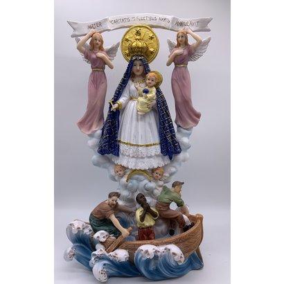 """Caridad Del Cobre, 12""""H Statue"""