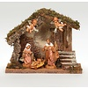 "5"" Scale, 5 Figure Nativity Wedding Creche; US"