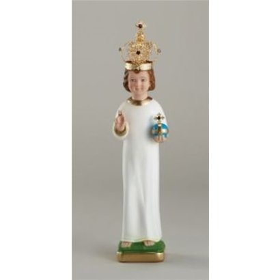 """16"""" Infant of Prague to Dress with Metal Crown"""