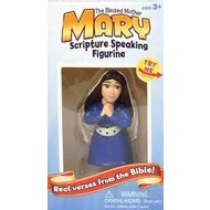 The Blessed Mother Mary Scripture Speaking Figurine