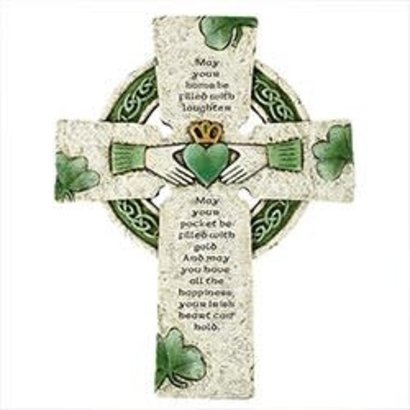 "Irish Cross, 7.875""W x 10""H"
