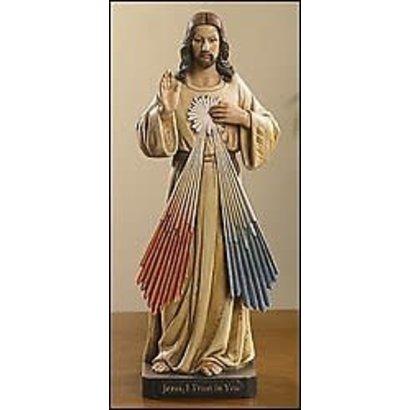 "Divine Mercy 8"" Toscana Figurine"