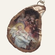 Oyster Ornament • Sweet Baby Jesus