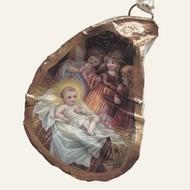 Oyster Ornament • Nativity #1