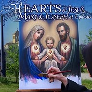 The Heart of Jesus, Mary, and Joseph at Ephesus- CD