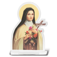 St. Therese Standing Diptych