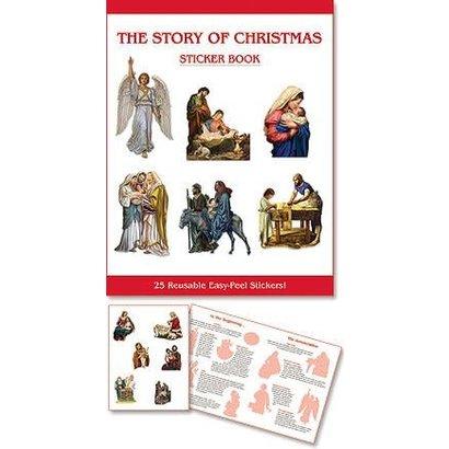 Christmas Sticker Book