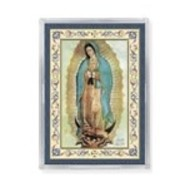 Guadalupe Gold Embossed Magnet