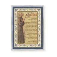 St. Francis Peace Prayer Gold Magnet