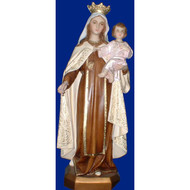 """Our Lady of Mount Carmel, Statue 15"""""""