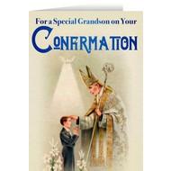 Confirmation Card, Grandson