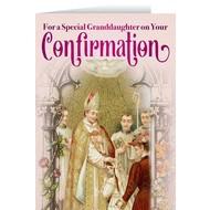 Confirmation Card, Granddaughter