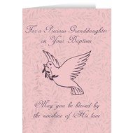 For A Precious Granddaughter on your Baptism