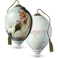 Mary And Joseph With Lamb Ornament
