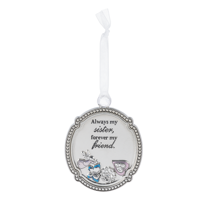 Always My Sister Forever My Friend - Ornament