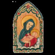Madonna and Child Small Retablos