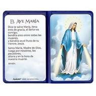 Our Lady Of Grace Prayer Folder, Spanish