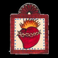Sacred Heart Small Size Retablos