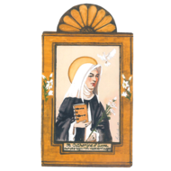 St.  Catherine of Siena Small Size Retablos