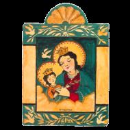 Our Lady of Peace Pocket Retablos