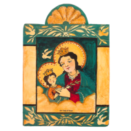 Our Lady Of Peace  Small Size Retablos
