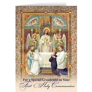 For a Special Grandchild First Holy Communion