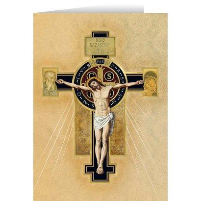 Benedictine Cross Greeting Card Benedictine Cross Greeting Card