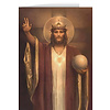 Christ the King by Chambers Restored Greeting Cards