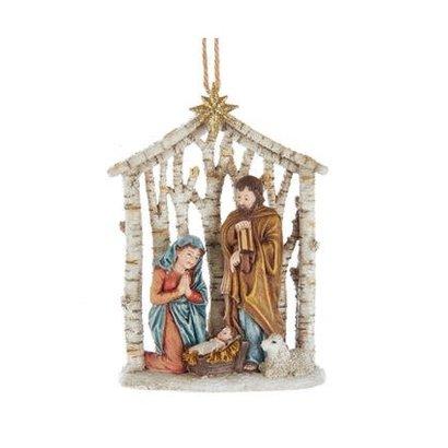 "Nativity Ornament, 4.38"""