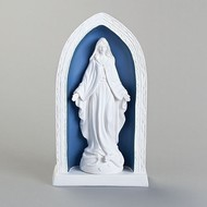 """Our Lady of Grace; Dellan Robbia  10.25""""H"""