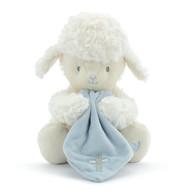 Blue Jesus Loves Me Plush Lamb