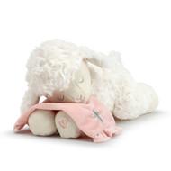 Pink Goodnight Prayer Plush Lamb