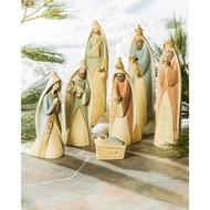 Gilded Nativity Scene