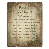 Wood Pallet Sign - Prayer of Saint Francis