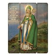 """Pallet of St. Patrick Plaque, 12"""" W x 15"""" H"""