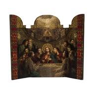 Last Supper Medium Triptych (10″ x 12″ ); Open