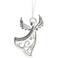 Angel Ornament - I Said