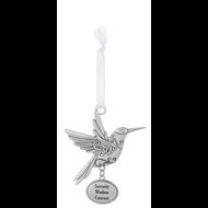 Bird Ornament - Serenity Wisdom Courage