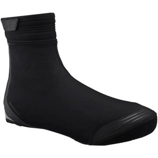 Shimano Shimano S1100R Soft Shell Shoe Covers Blk Lrg
