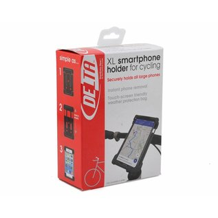 Delta Delta Smart Phone Holder XL Blk
