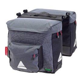 Axiom Axiom Seymour Oceanweave Twin Pannier Bags Gry/Blk