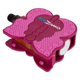 "Kidzamo Kidzamo Lucille Butterfly Pedals 1/2"" Pnk"