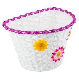 Sunlite Sunlite Classic Flower Basket Wht