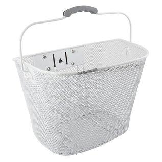 Sunlite Sunlite QR Mesh Basket Front 25.4/31.8 Wht
