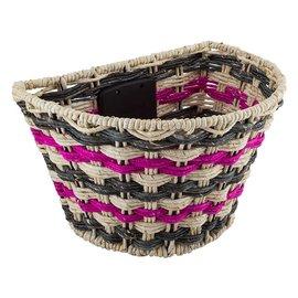 Sunlite Sunlite Rope Wave QR Basket Front Gry/Pnk/Blk