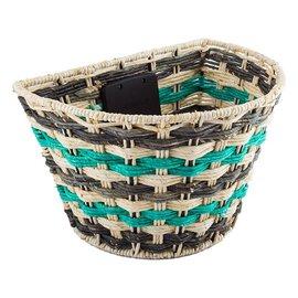 Sunlite Sunlite Rope Wave QR Basket Front Tan/Gry/Teal